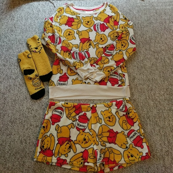 Disney Other - Disney Pooh Bear PJs c9bddadfc42f